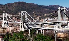 Genova : il ponte Morandi prima del 14 agosto 2018