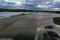 CA sr78 wb flooded wash road closure winterhaven 10-13-'18 06