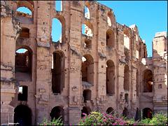 El Djem : Anfiteatro El Jem - il 3° nel mondo dopo  Colosseo e Capua