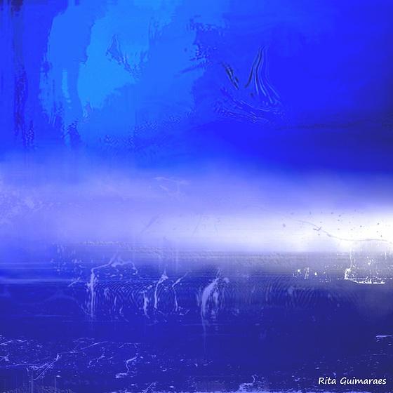 BLUE LANDSCAPE - PAYSAGE BLEU