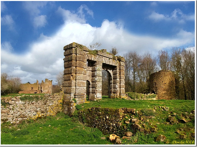 Ruins of a bygone era...