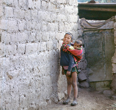 A big brother´s smile from Yucay, Cuzco