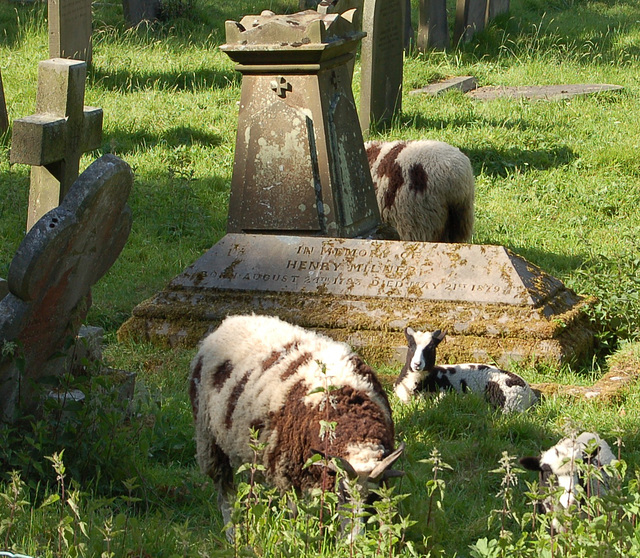 St Peter's Churchyard, Edensor, Derbyshire