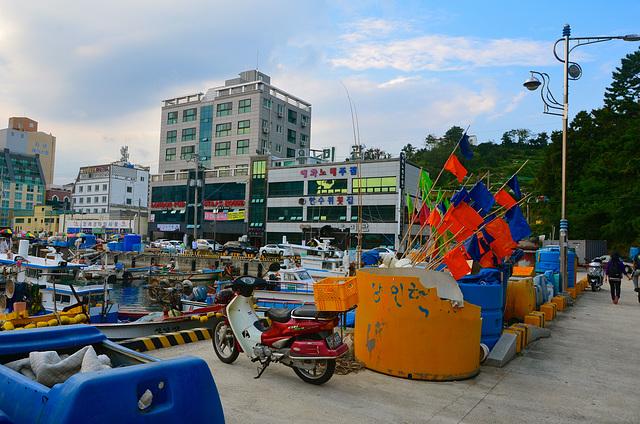 Okpo fishing village