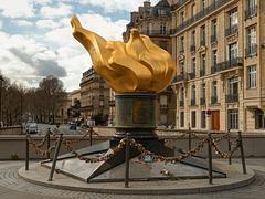 Flamme de la Liberté, Paris