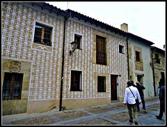 Salamanca: fachada de vivienda