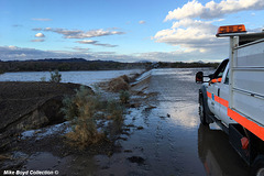 CA sr78 wb flooded wash road closure winterhaven 10-13-'18 11