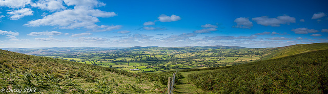 Long Mynd Panorama