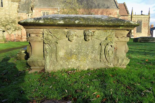 ross-on-wye churchyard, herefs.