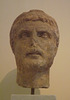 Portrait Head from Athens Probably of a Priest in the National Archaeological Museum of Athens, May 2014
