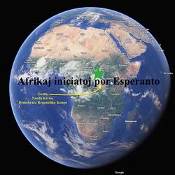 Afriko-mapo Goma