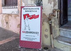 Nazdarovie - Restaurante Sovietico