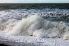 mer déchaînée à Dieppe