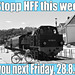 Stopp HFF this week - see you 28.8.2020
