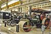 Steam roller & traction engine Chatham c1988