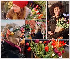Tulips in Amsterdam, 1...