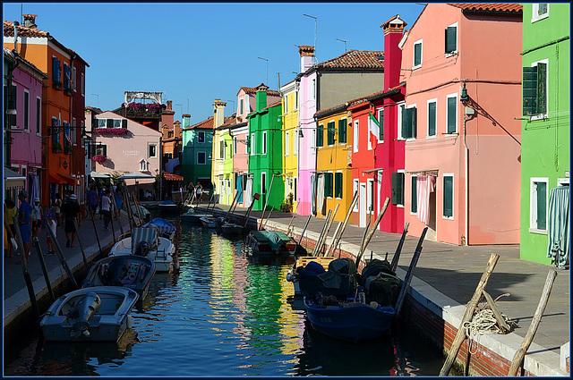 Burano, les couleurs