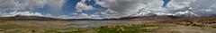 Bolivian Altiplano, Panorama of Laguna Cañapa