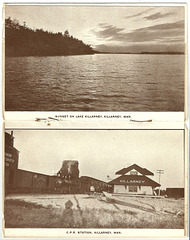 MN0159 KILLARNEY - (POSTCARD BOOKLET PAGES C)