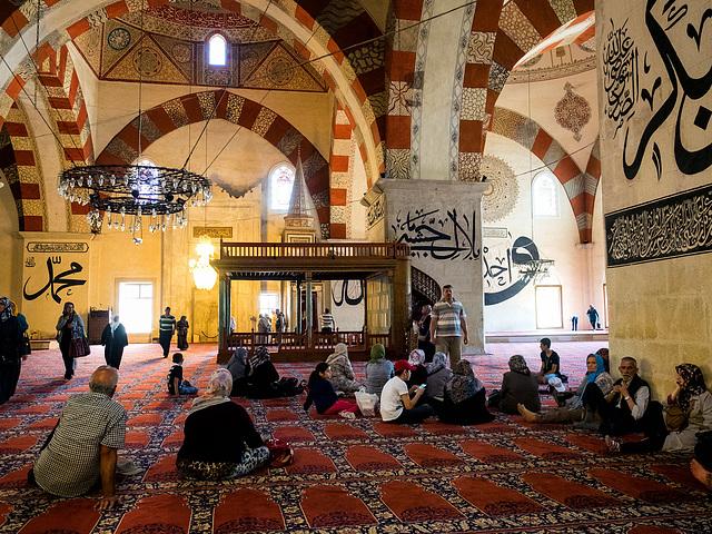 Edirne, Turkey, Old Mosque (Eski Cami)