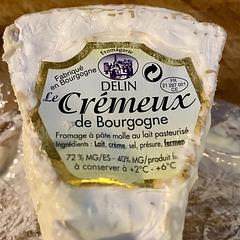 Le Crémeux de Bourgogne