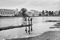 Udaipur trois enfants