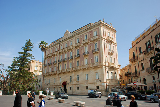 Hotel Des Etrangers, Syracuse, Sicily, Italy