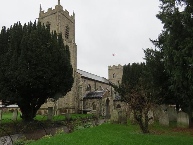 reepham churches, norfolk