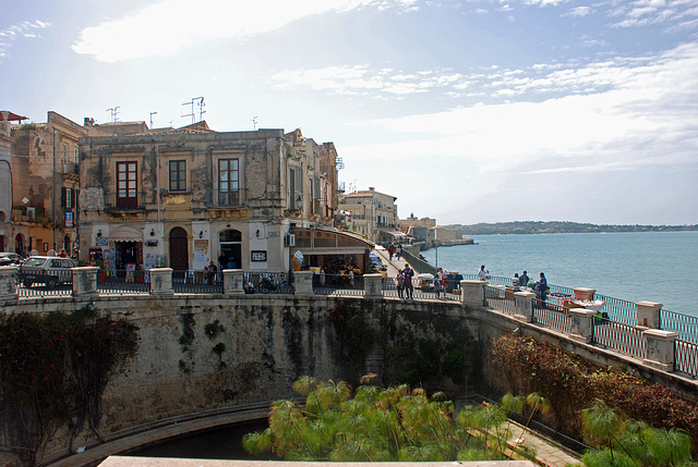 Fonte Aretusa, Syracuse, Sicily, Italy