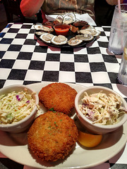 Lunch, Acme Oyster House, Mandeville, Louisiana