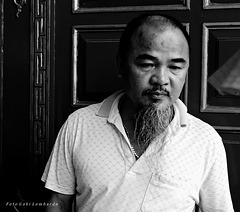 man in Hue / Vietnam