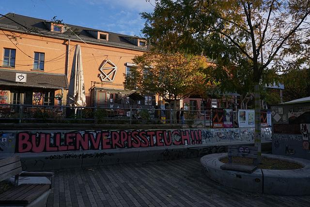 """""""Scheune"""" an der Alaunstraße"""