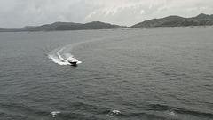 Einfahrt in die Ría de Vigo