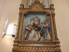 4. Jezus pirma karta parpůl po kriżium.