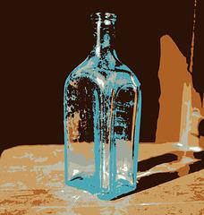 10/50 Old Bottle Pop Art