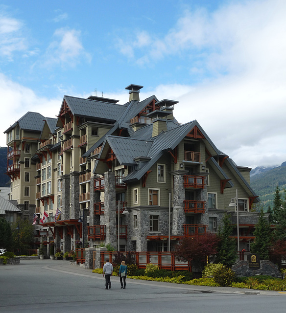 Whistler- Pan Pacific Hotel