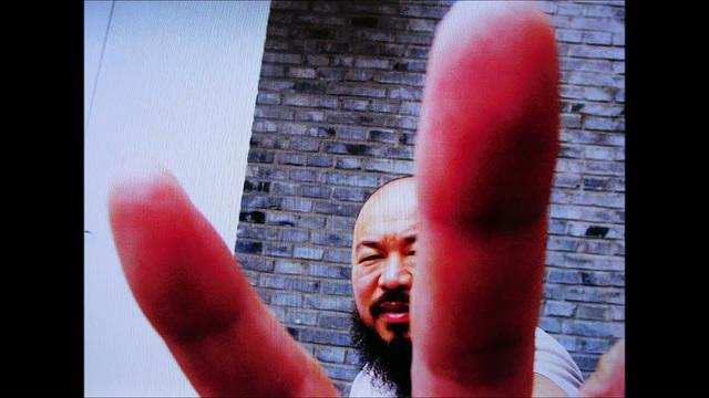 Self portraits by Ai Weiwei