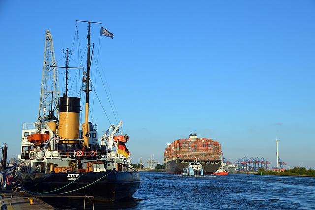 In Hamburg Övelgönne
