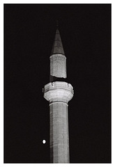 A Minaret and the Moon