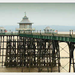 the pier at Clevedon