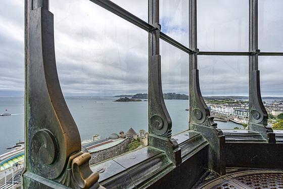 Smeaton's Tower - lantern view