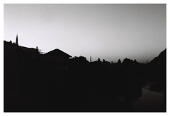 Mostar after sundown