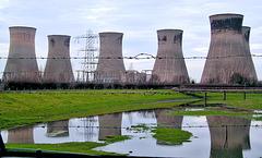Thorpe Marsh Power Station Yorkshire 13th February 2007