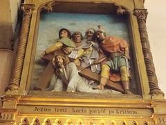 8. Jezus treti karta parpůl po kriżium.