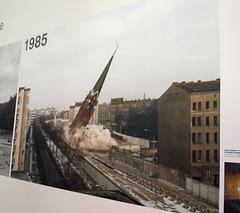 Berlin Wall Memorial 1985 (#2510)