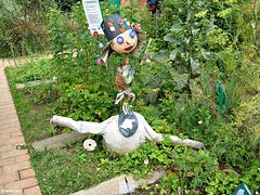 drôle de jardinier à Bercy !