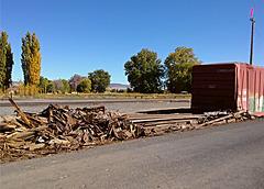 Wood & metal scraps