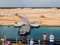 In attesa di traghettare - Suez