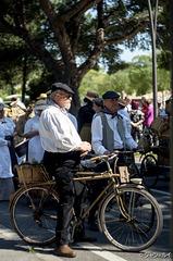 Vieux routier à bicyclette