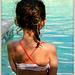 Rêverie de bord de piscine
